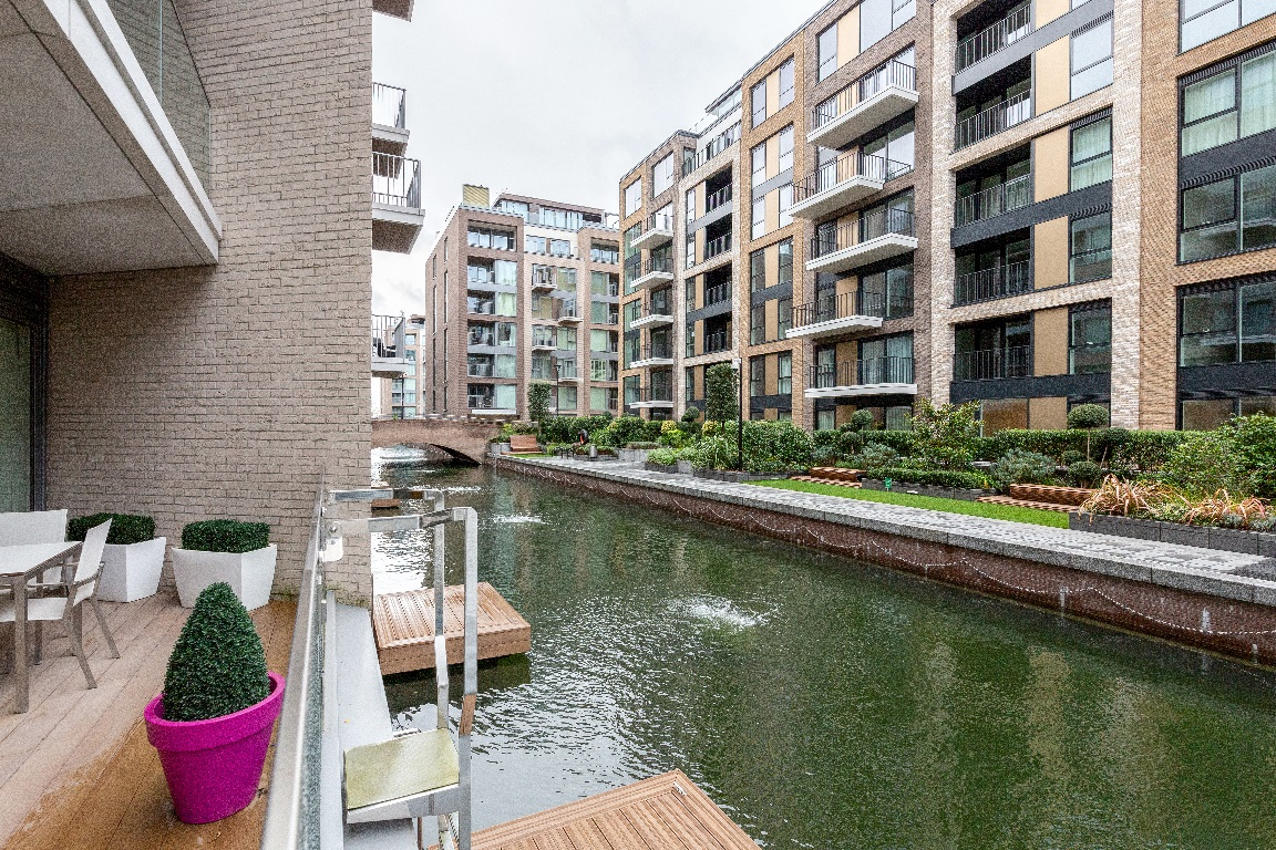 View at The Chelsea Pads, Imperial Wharf, London - Citybase Apartments