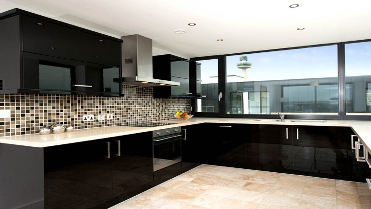 Amazing kitchen in Lever Court Apartments - Citybase Apartments