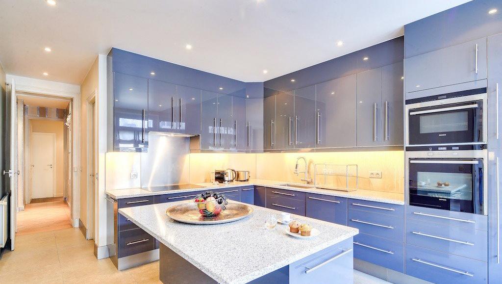 Kitchen at Montaigne Apartments - Citybase Apartments