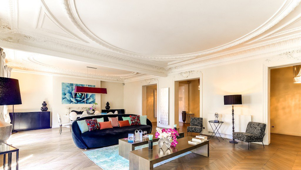 Stylish living area at Montaigne Apartments - Citybase Apartments