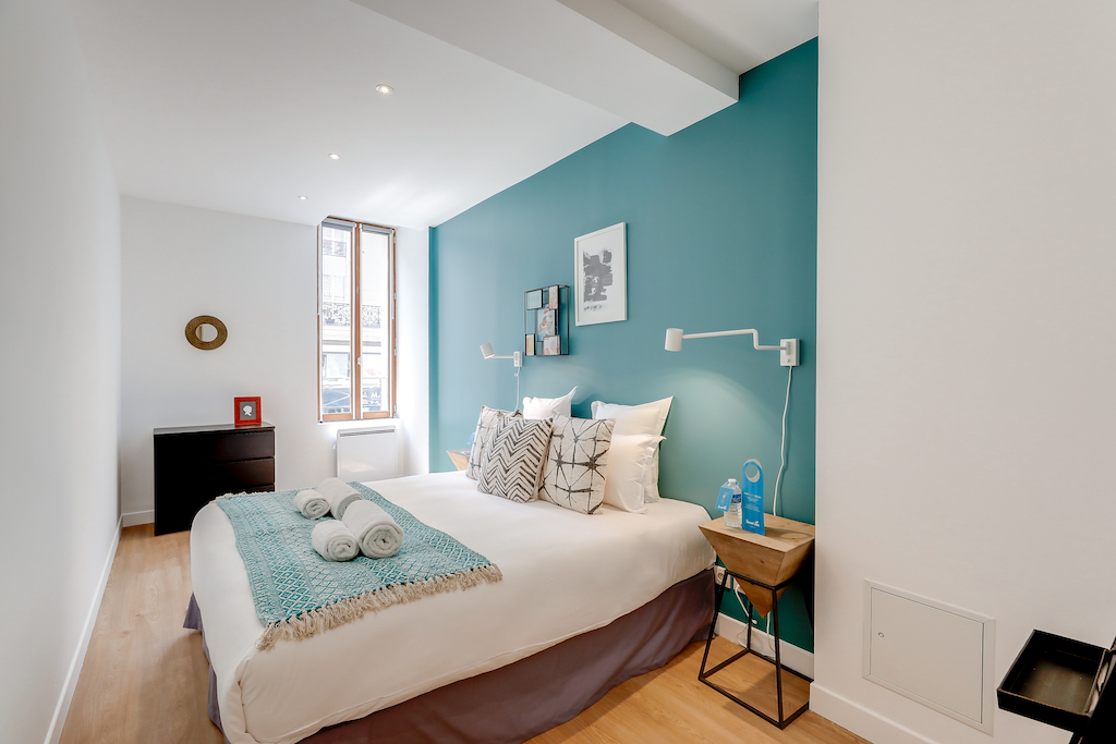 Bedroom at Saint Antoine - Citybase Apartments