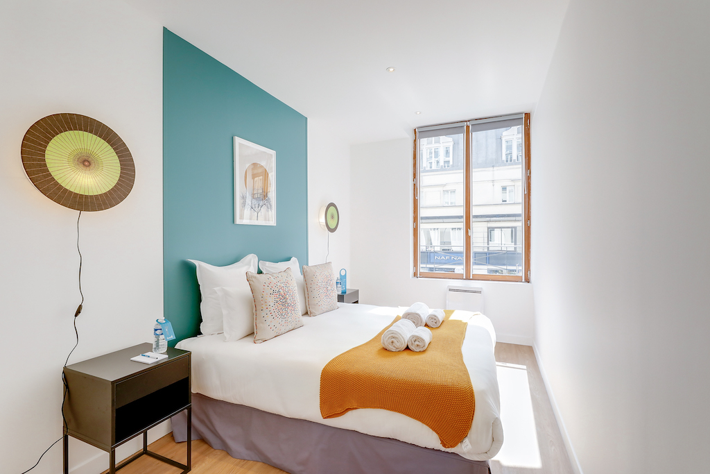 Second bedroom at Saint Antoine - Citybase Apartments