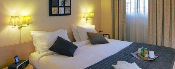 Bedroom at Citadines Prado Chanot Apartments - Citybase Apartments