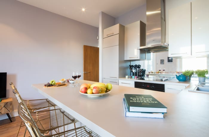 Kitchen facilities at Notting Hill Serviced Apartments - Citybase Apartments