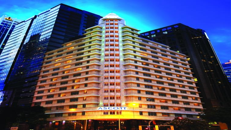 Exterior at Ascott Raffles Place Singapore Apartments, Singapore - Citybase Apartments