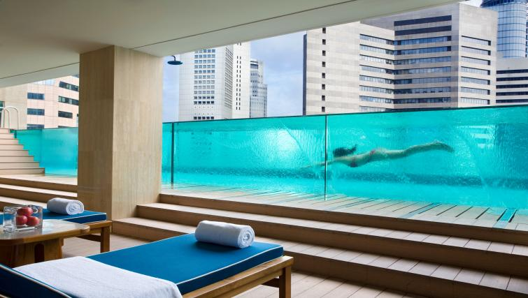 Pool at Ascott Raffles Place Singapore Apartments, Singapore - Citybase Apartments