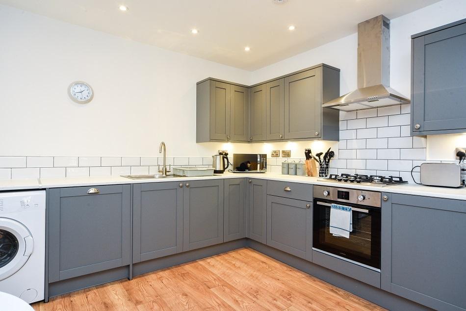 Kitchen at Hamilton Lodge - Citybase Apartments