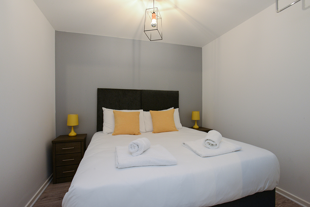 Bedroom at Marco Island Serviced Apartment - Citybase Apartments