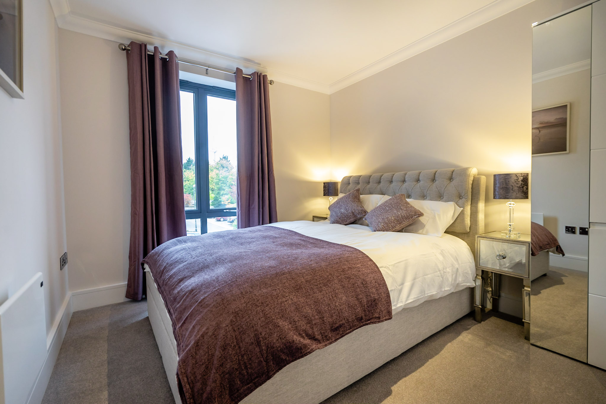 Bedroom at London Mews Serviced Apartments - Citybase Apartments