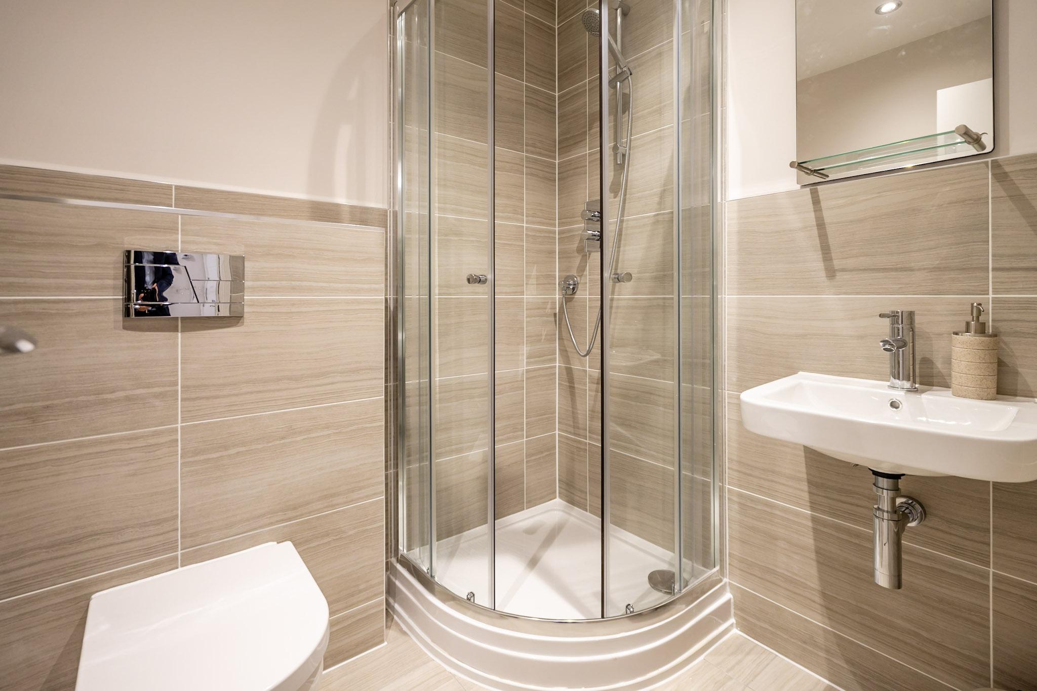 Bathroom at London Mews Serviced Apartments - Citybase Apartments