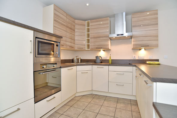 Kitchen at Oldmill Road Apartments - Citybase Apartments