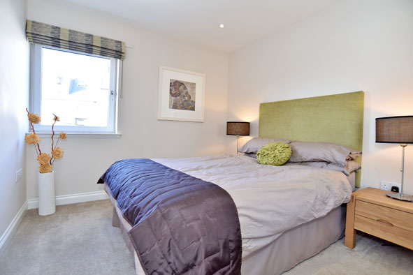 Bedroom at Oldmill Road Apartments - Citybase Apartments