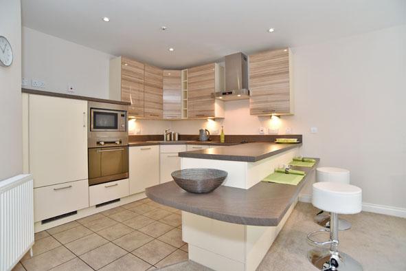 Spacious kitchen at Oldmill Road Apartments - Citybase Apartments