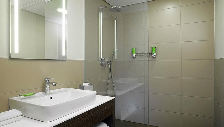 Bathroom at Element Frankfurt Airport Apartments - Citybase Apartments