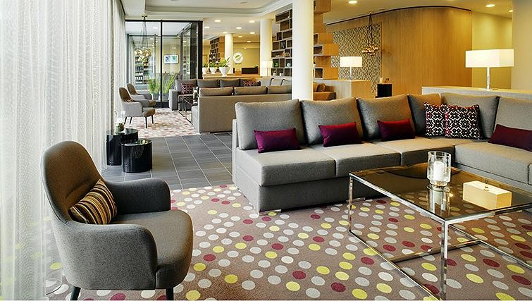 Communal lounge at Element Frankfurt Airport Apartments - Citybase Apartments
