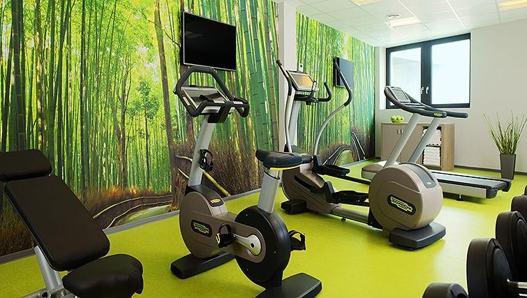 Gym at Element Frankfurt Airport Apartments - Citybase Apartments