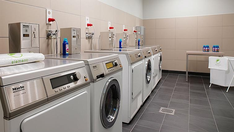 Communal laundry at Element Frankfurt Airport Apartments - Citybase Apartments