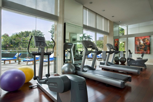 Gym at Somerset Berlian Apartments - Citybase Apartments