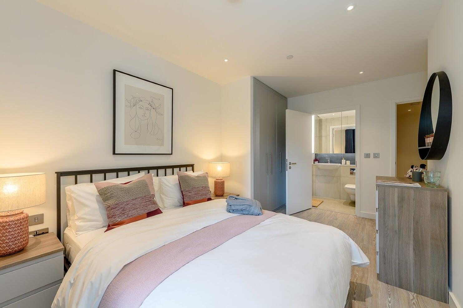 Bedroom at Wembley Park Apartments - Citybase Apartments