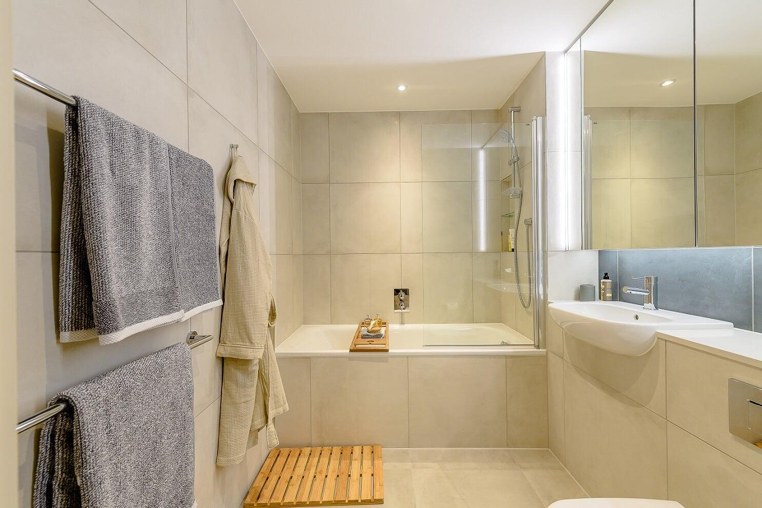 Bathroom at Wembley Park Apartments - Citybase Apartments