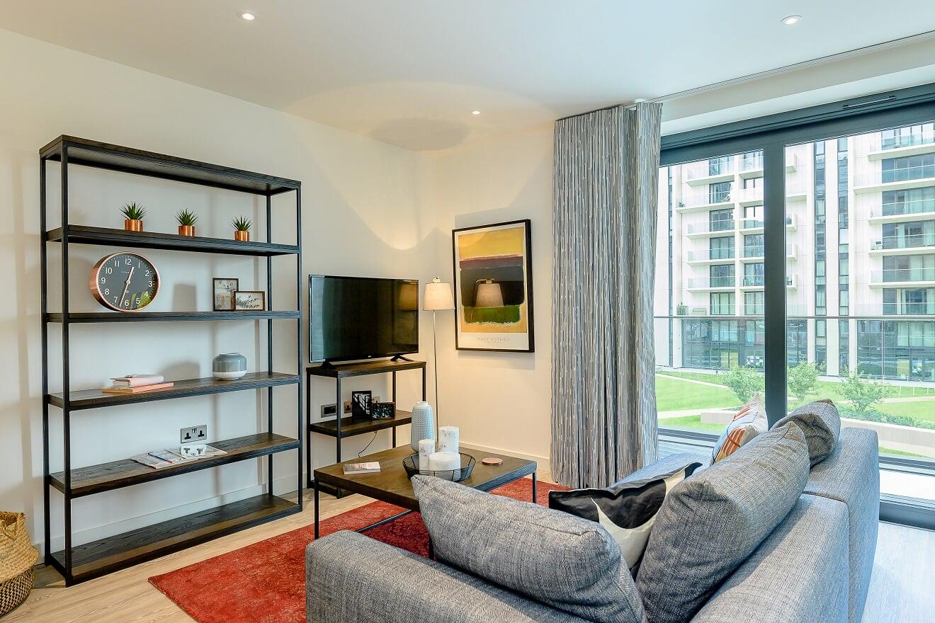 Lounge at Wembley Park Apartments - Citybase Apartments
