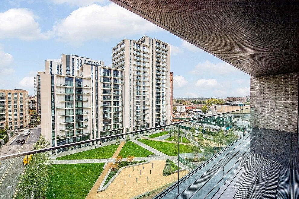 Exterior of Wembley Park Apartments - Citybase Apartments