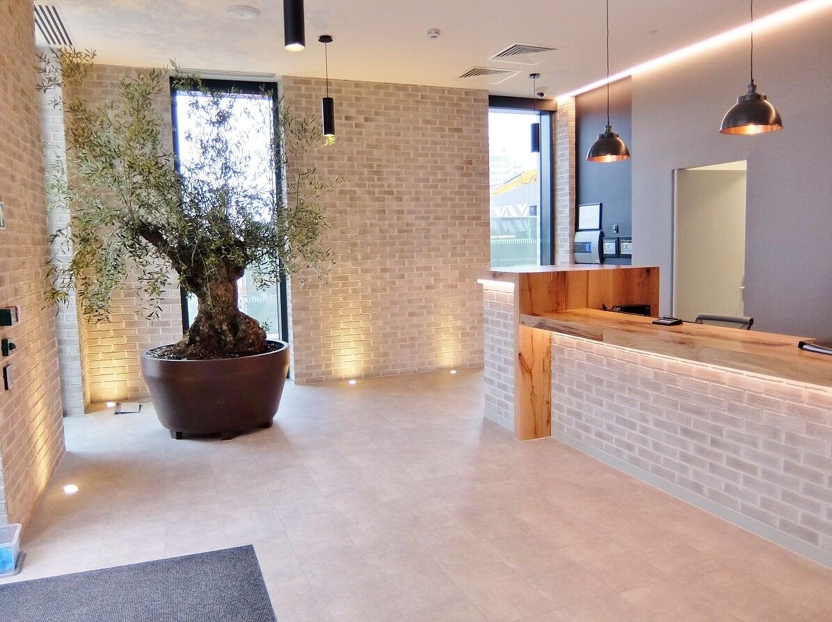 Entrance at Wembley Park Apartments - Citybase Apartments