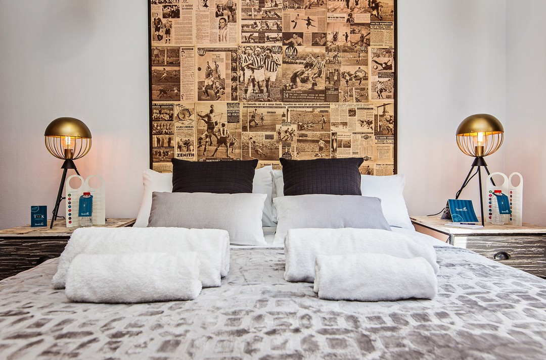 Bedroom at Sport Design Sant Pau Apartment - Citybase Apartments