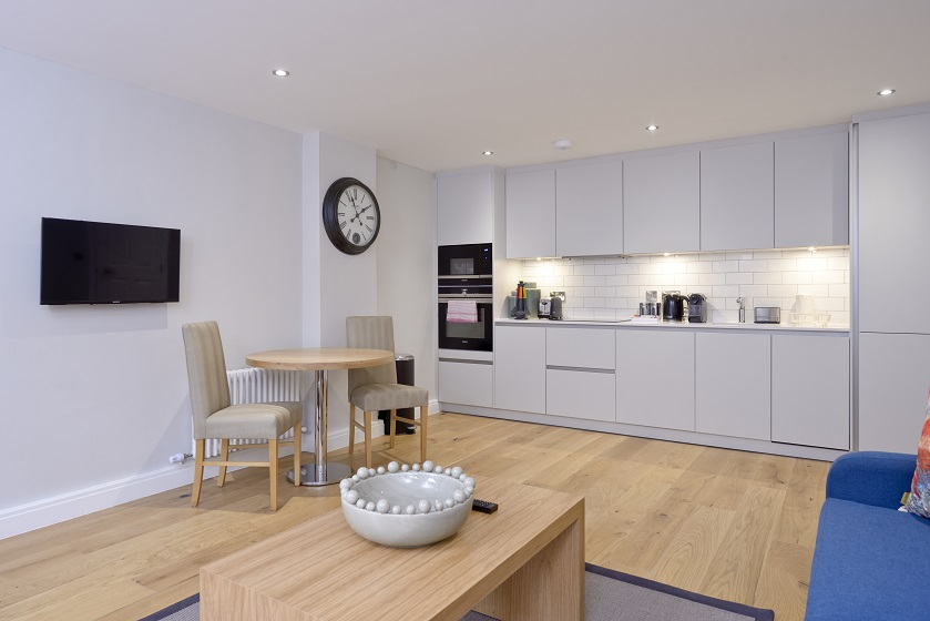 Kitchen at New Town Serviced Apartments - Citybase Apartments