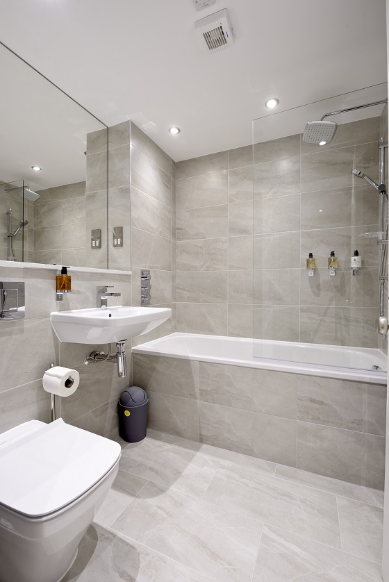 Bathroom at New Town Serviced Apartments - Citybase Apartments