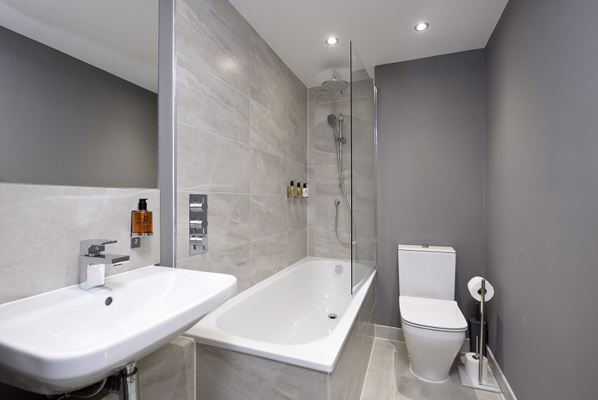 Bath at New Town Serviced Apartments - Citybase Apartments