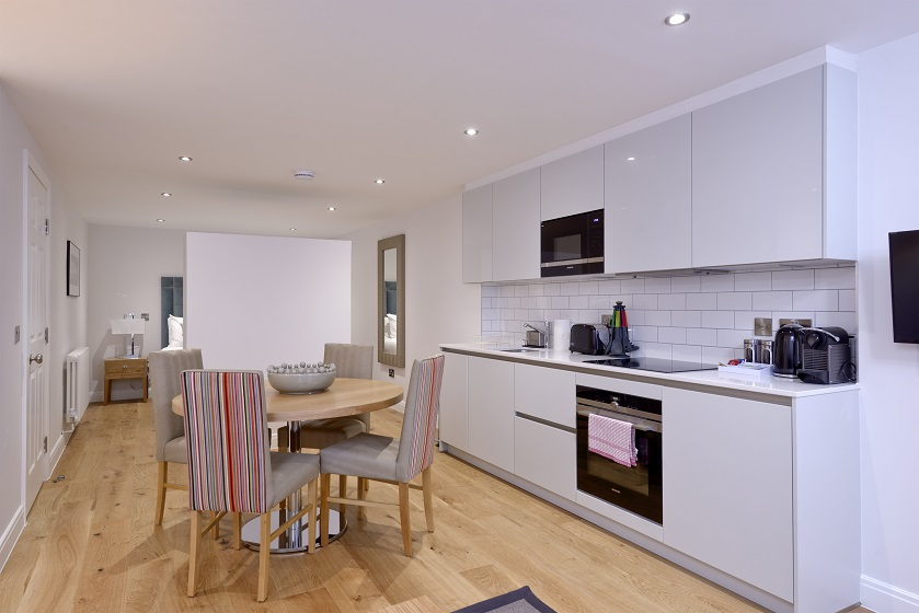 Oven at New Town Serviced Apartments - Citybase Apartments
