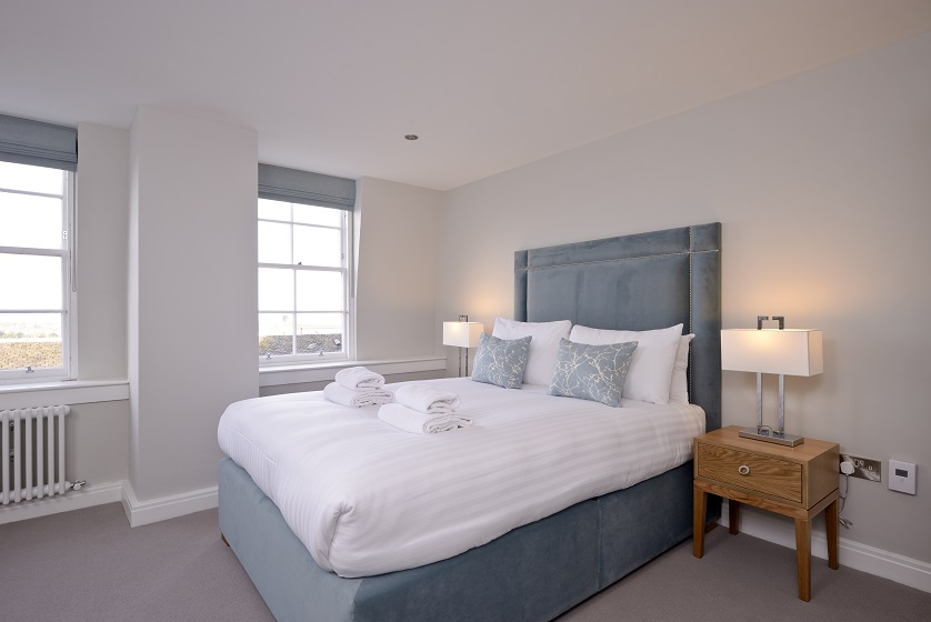 Charming bedroom at New Town Serviced Apartments - Citybase Apartments