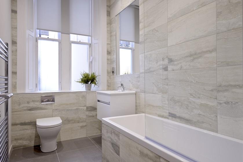 Bath at Charlotte Square Apartments - Citybase Apartments