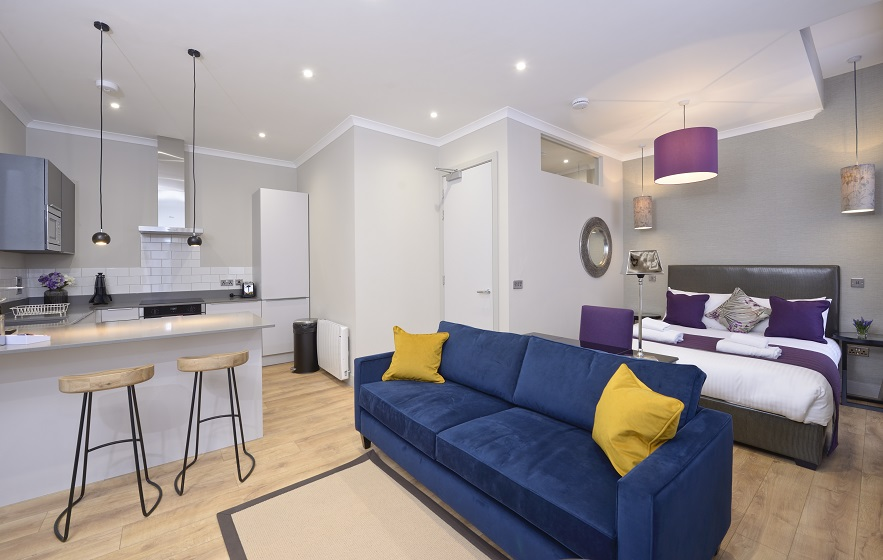 Studio at Charlotte Square Apartments - Citybase Apartments
