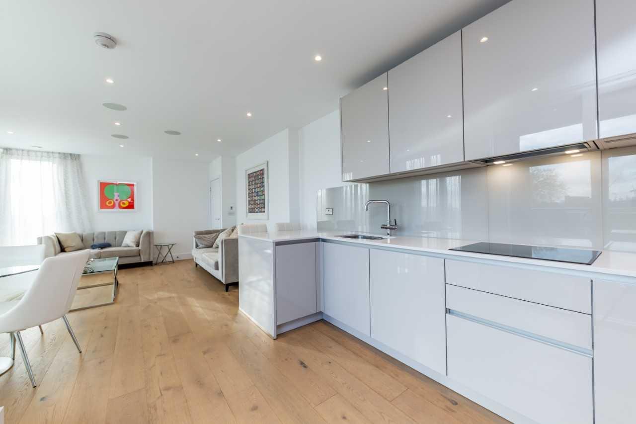 Kitchen at Camden St Pancras Way Apartment - Citybase Apartments