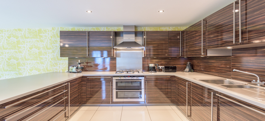 Kitchen at Woodlands Terrace - Citybase Apartments