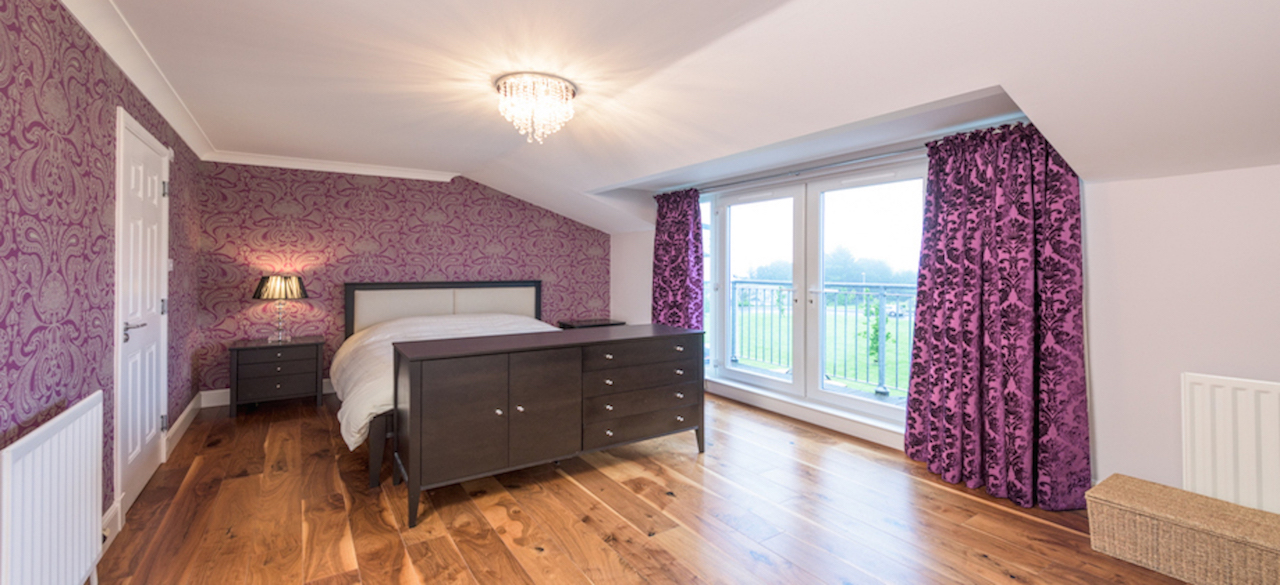 Bedroom at Woodlands Terrace - Citybase Apartments