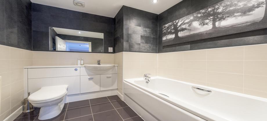 Bathroom at Woodlands Terrace - Citybase Apartments