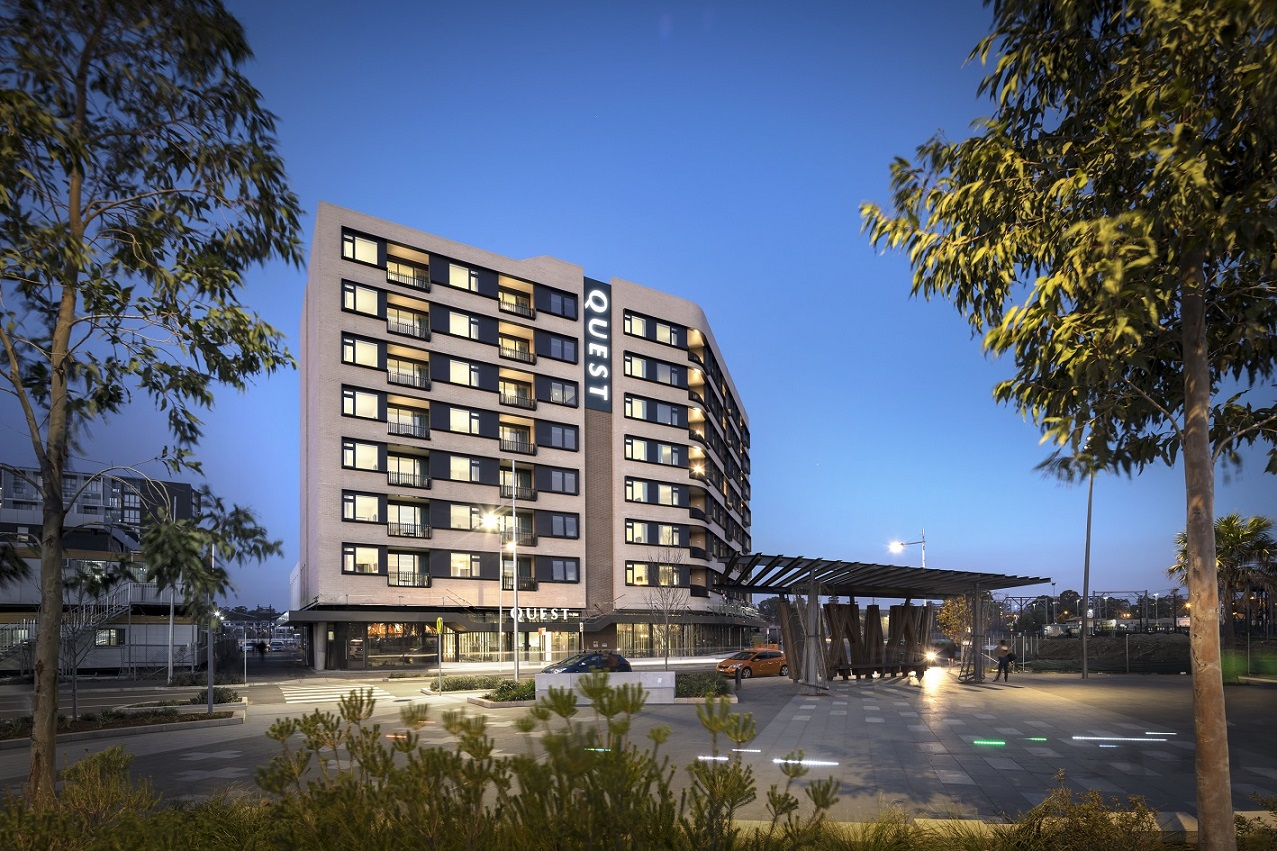 Exterior at Quest Penrith Apartments - Citybase Apartments