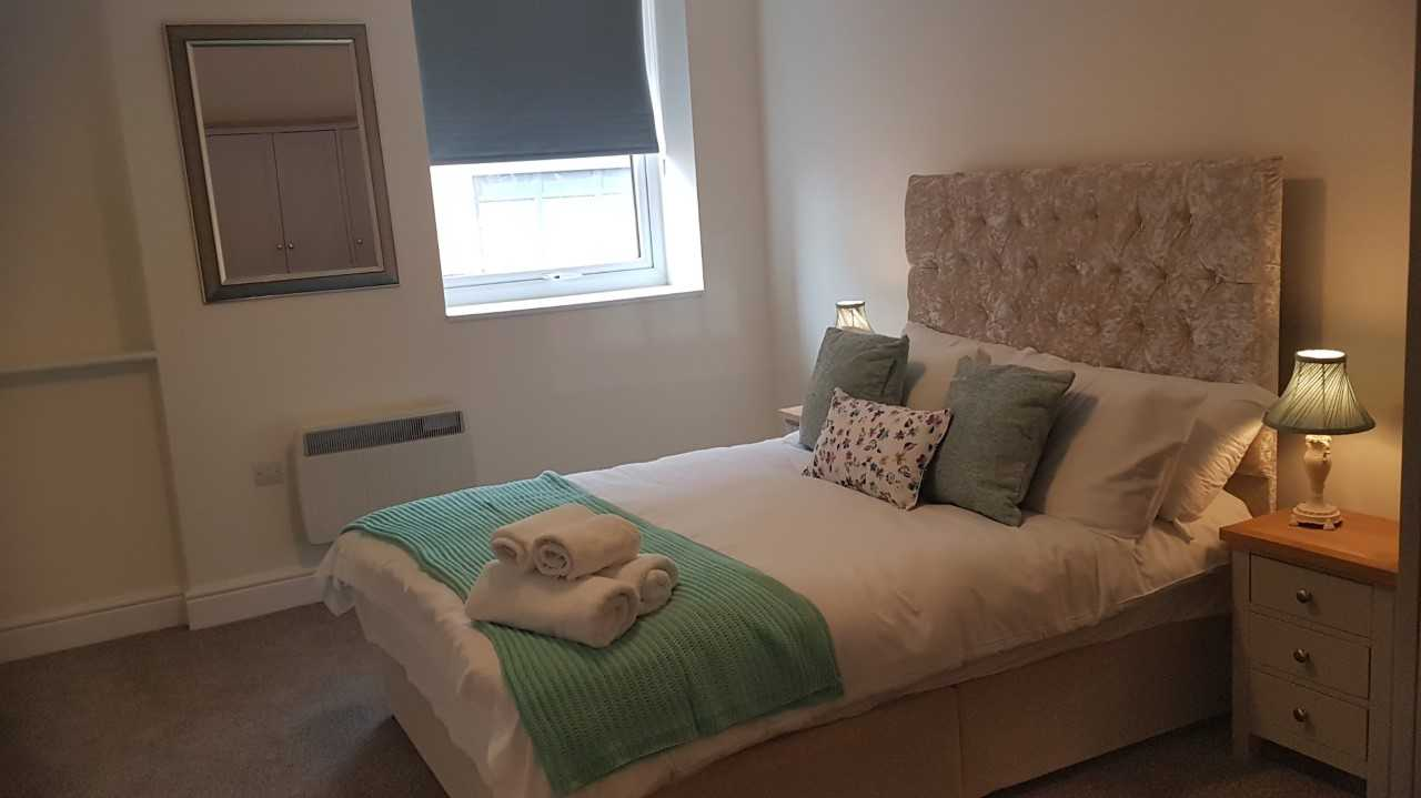 Bedroom at Electra House Apartments - Citybase Apartments
