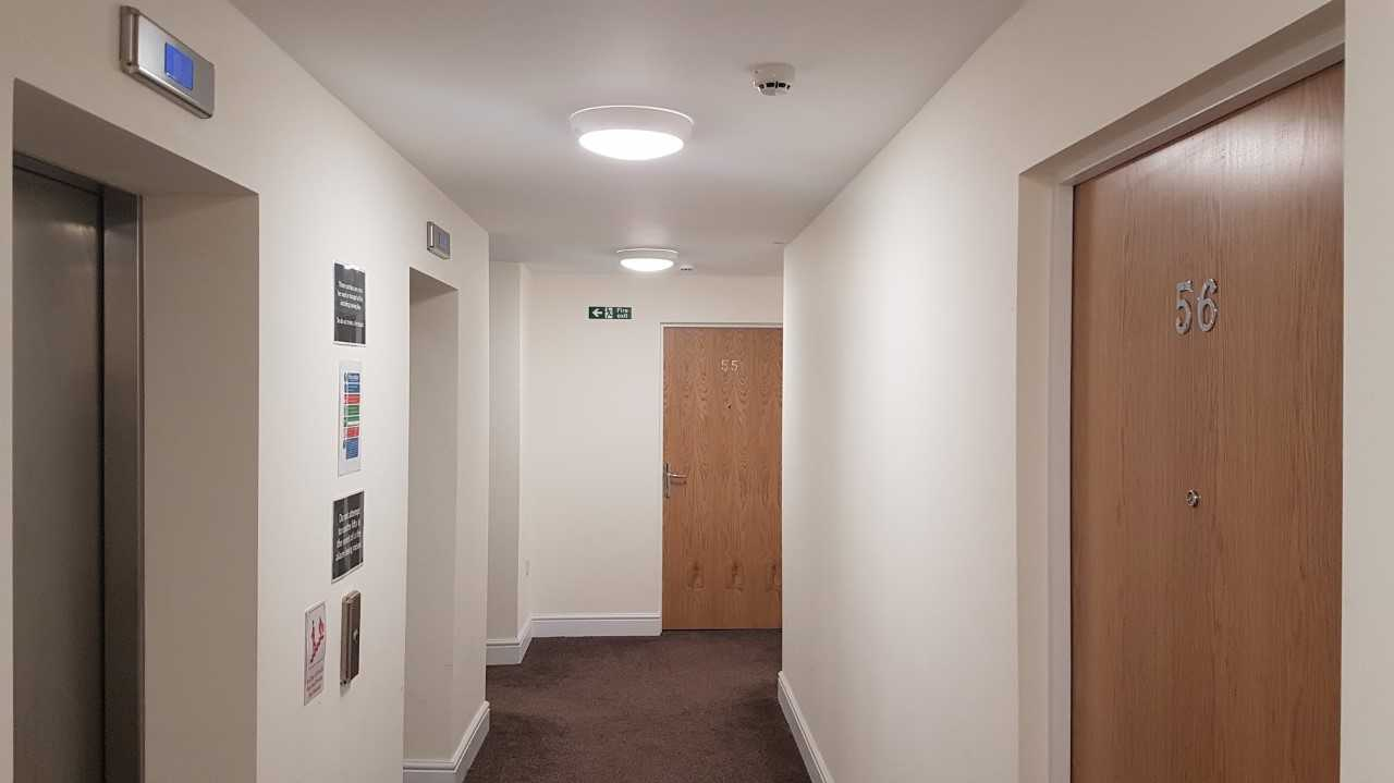 Hallway at Electra House Apartments - Citybase Apartments