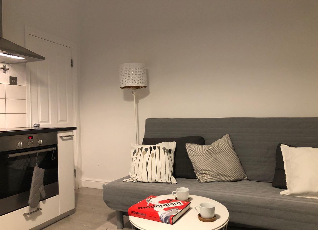 Sofa at Upper Crown Street Apartments - Citybase Apartments