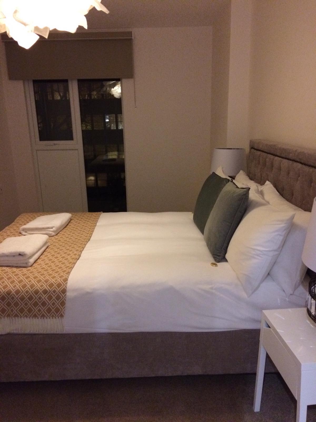 Bedroom at Charles Hope Southampton City Apartments - Citybase Apartments