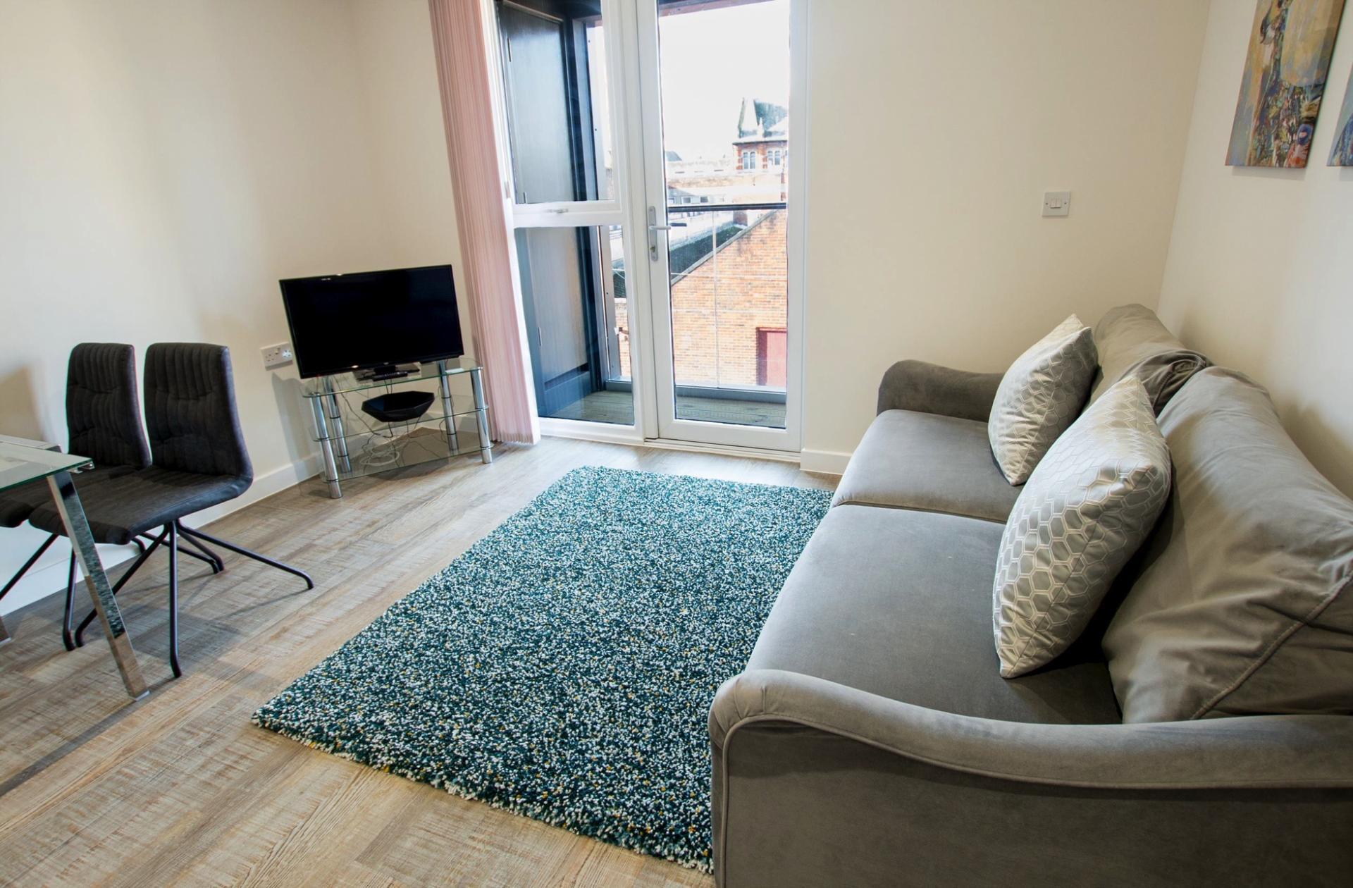 Television at Charles Hope Southampton City Apartments - Citybase Apartments