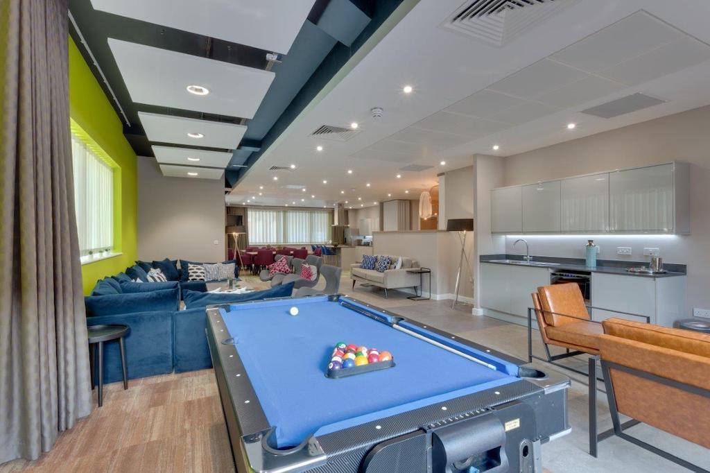 Communal lounge at Charles Hope Southampton City Apartments - Citybase Apartments