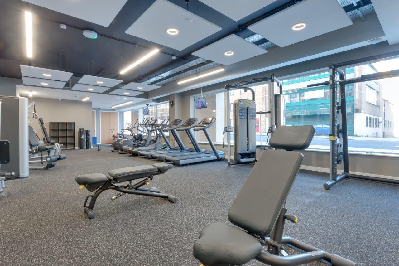 Gym at Charles Hope Southampton City Apartments - Citybase Apartments