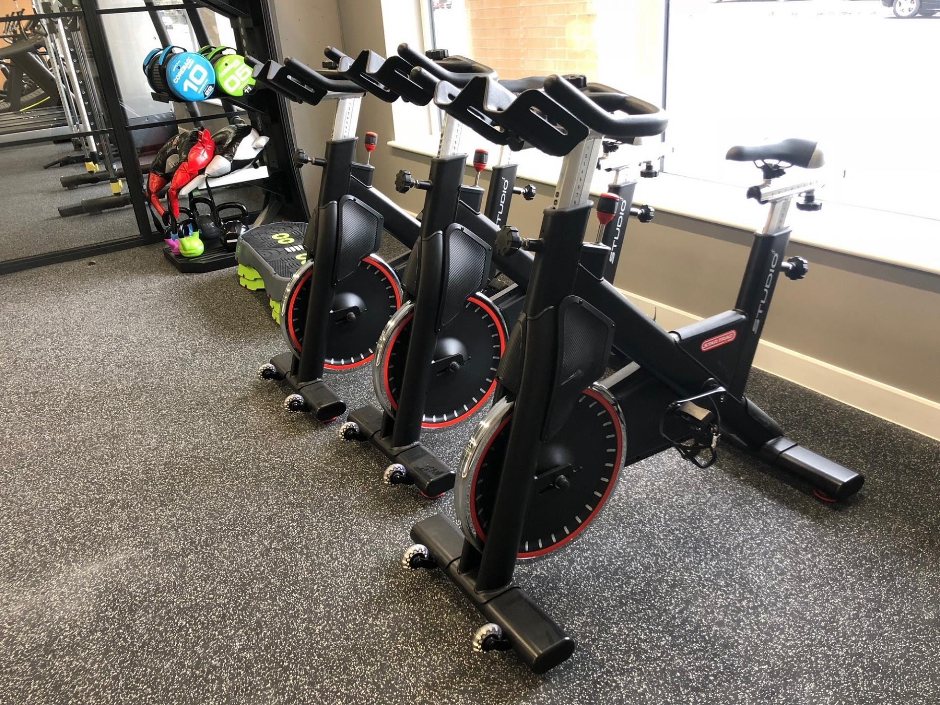 Exercise bikes at Charles Hope Southampton City Apartments - Citybase Apartments