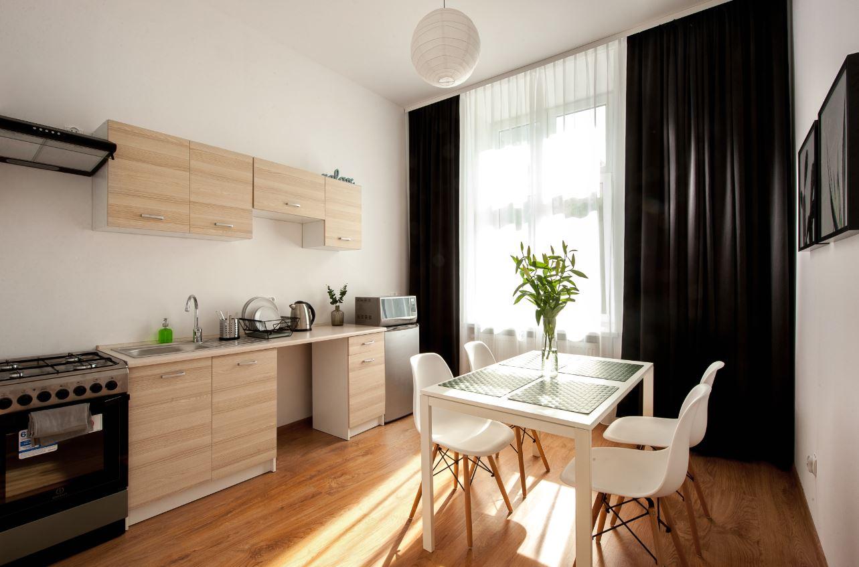 Kitchen at Agnieszki 1 Apartment - Citybase Apartments