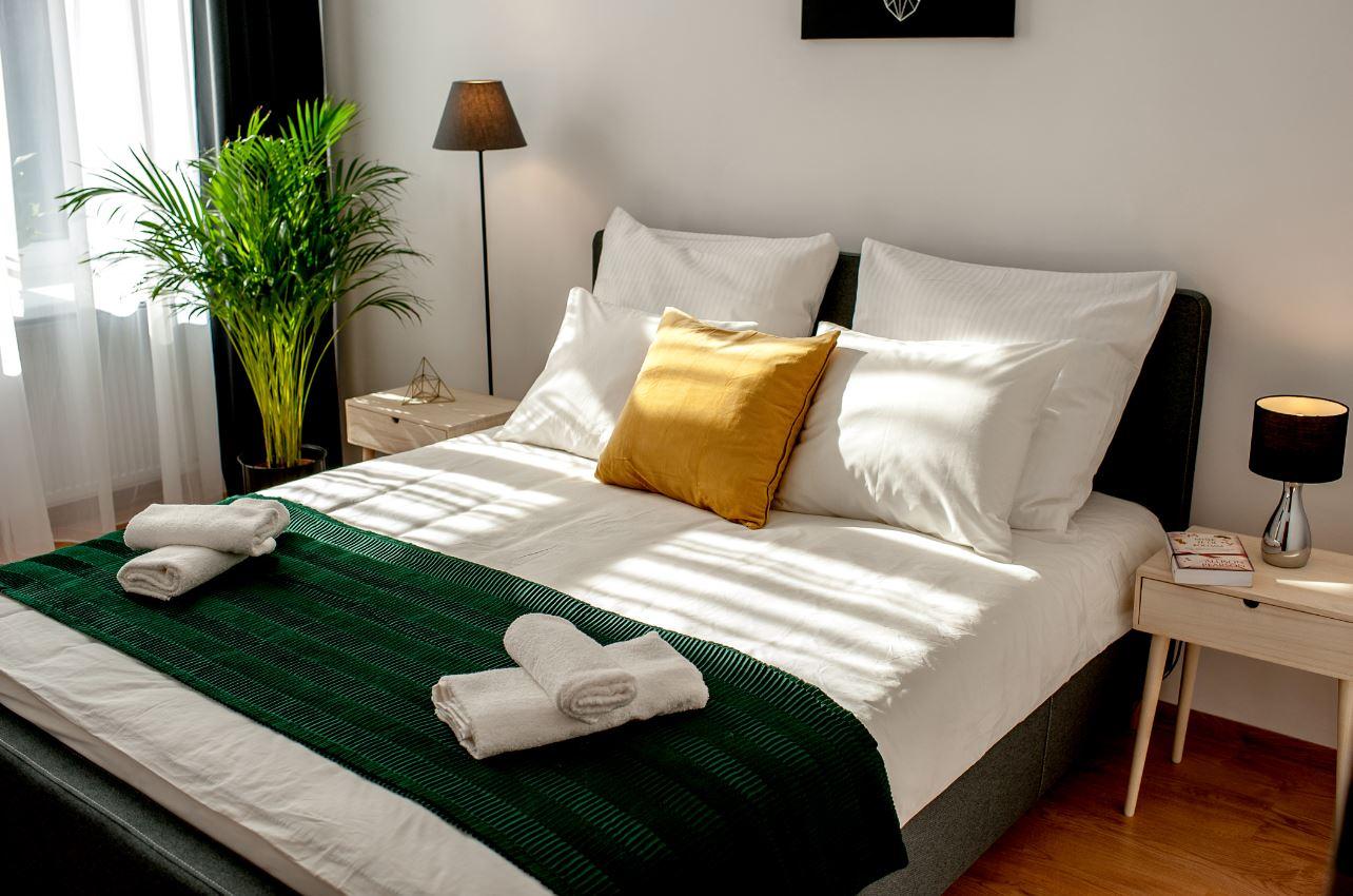 Bedroom at Agnieszki 1 Apartment - Citybase Apartments